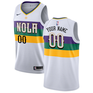 New Orleans Pelicans White Team Jersey - City Edition