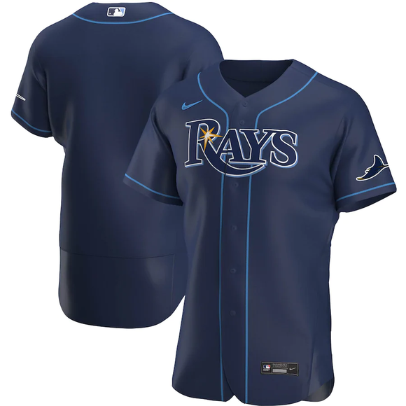 Tampa Bay Rays Navy Alternate 2020 Team Jersey