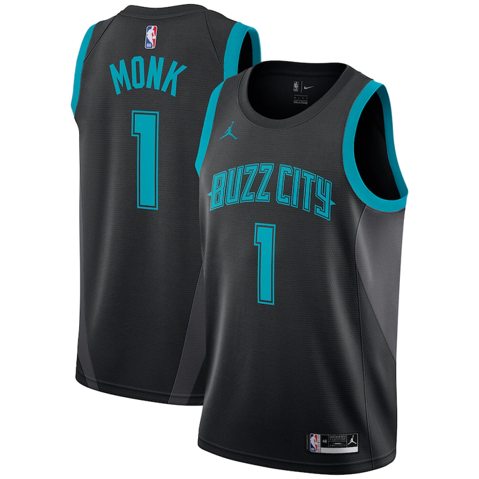 Charlotte Hornets Black 2019/2020 Team Jersey - City Edition