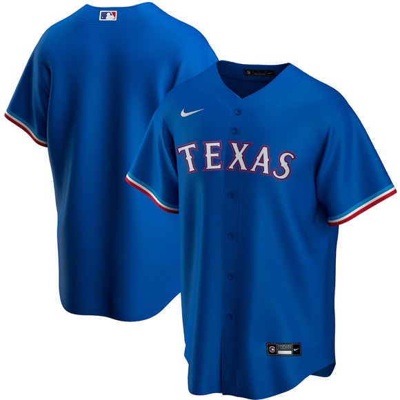 Texas Rangers Royal Alternate 2020 Team Jersey