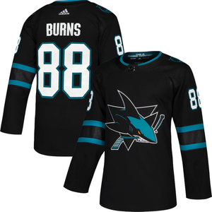 San Jose Sharks Black Alternate Team Jersey