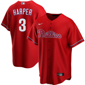 Philadelphia Phillies Red Alternate 2020 Team Jersey