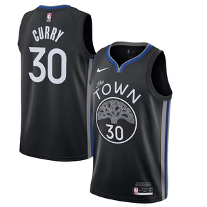 Golden State Warriors Black Team Jersey - City Edition