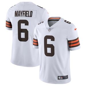 Cleveland Browns Away White Team Jersey