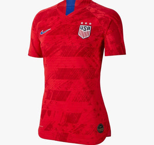 USA USWNT Red Soccer Jersey