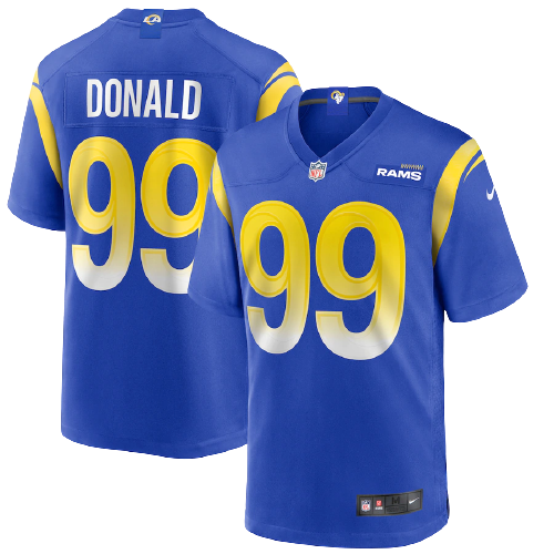 Los Angeles Rams Home Blue Team Jersey