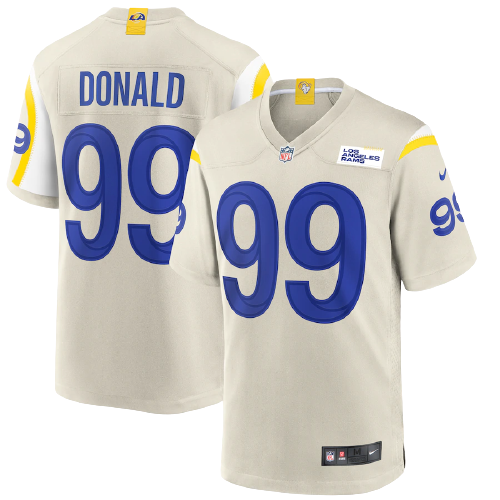 Los Angeles Rams Away White Team Jersey