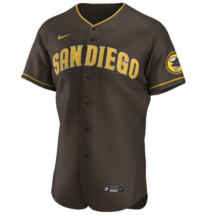 San Diego Padres Brown Road 2020 Team Jersey