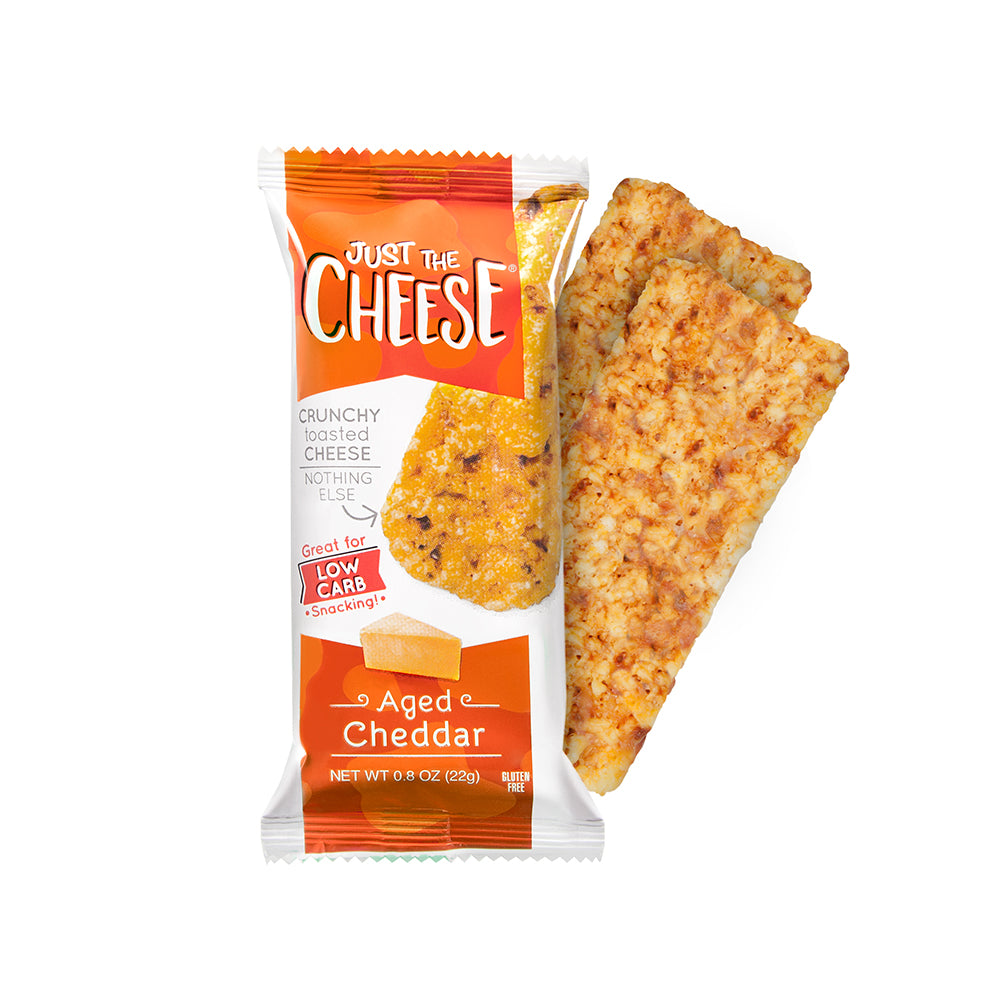 Just The Cheese - Cheddar Bars - 12 Two-Bar Packs