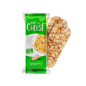 Just The Cheese - Jalapeño  Cheese Bars - 12 Two-Bar Packs