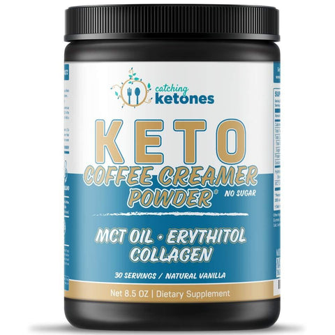 Keto Vanilla Coffee Creamer Powder