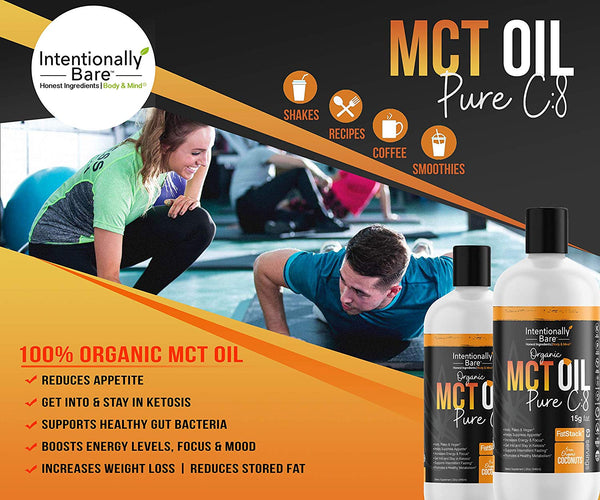 Pure C8 Organic MCT Oil