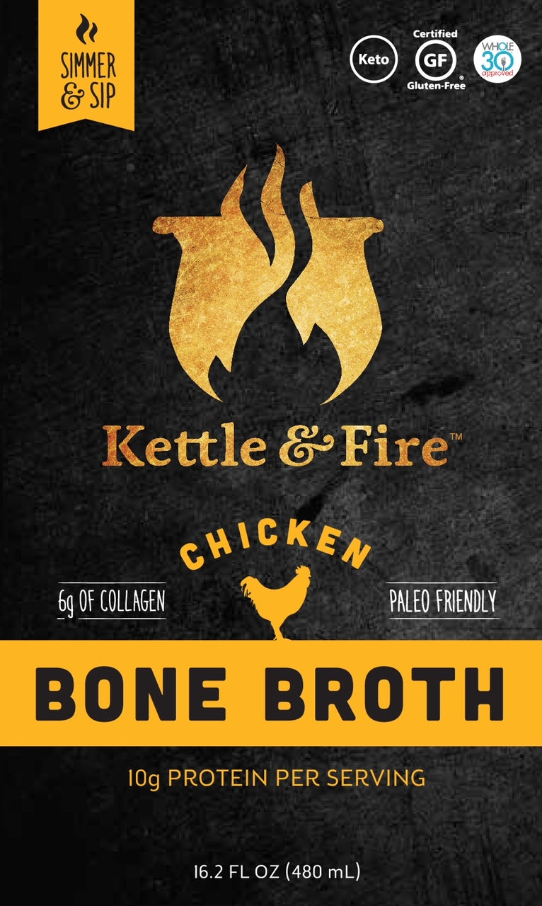 Chicken Bone Broth - 16.2oz Pack of 2