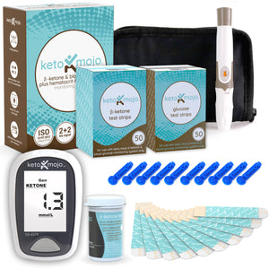 Keto Mojo Pro Plus Blood Ketone Testing Kit