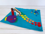 Rainbow Land Play Mat