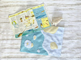 Reversible Polar Ice/Ocean Beach Play Mat