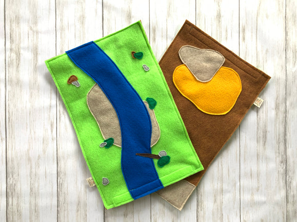 Reversible River/Desert Play Mat
