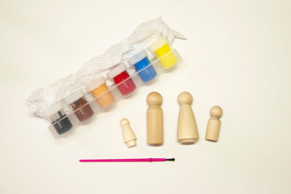 Paint Your Own Family Craft Kit