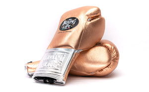 GUANTE DE BOX 8OZ CHAMPION HH [BRONZE/SILVER]