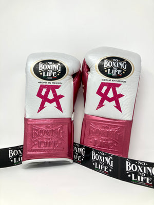"GUANTE DE BOX 10 OZ CHAMPION CANELO ""FIGHT EDITION"" PERLA/ROSA"