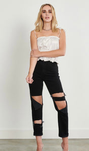 Be Mine Forever Black Denim Jeans