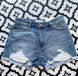 Make Your Wish High Rise Shorts