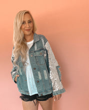 Load image into Gallery viewer, Shine Bright Denim Jacket