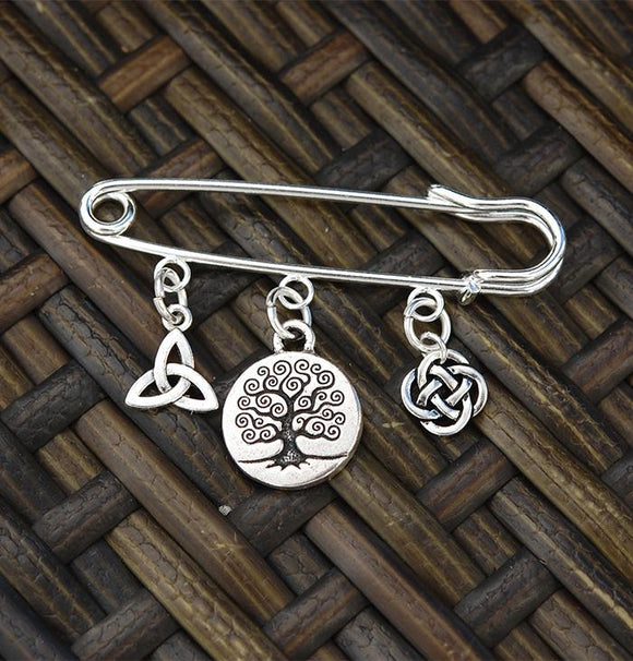 AP-507 Celtic Tree of Life Pin