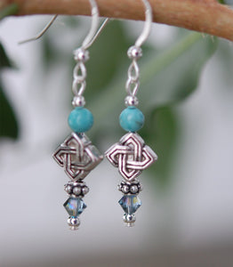 GS523 Turquoise with Celtic Knots