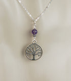 GS650 Celtic Tree of Life with Amethyst