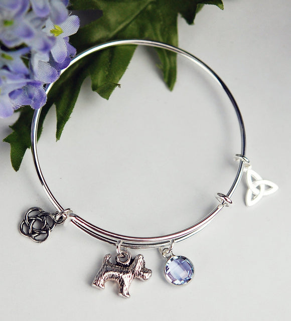 Girl's Scottish Doggie  Bracelet