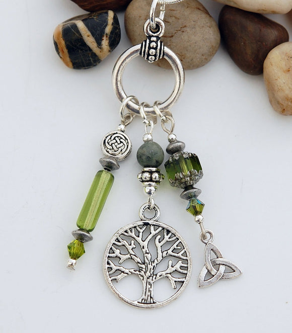 LGD-25 Celtic Legend of the Tree of Life Pendant