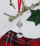 Celtic Round Knot Christmas Ornament