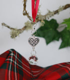 ORN-03 Celtic Heart Knot Christmas Ornament