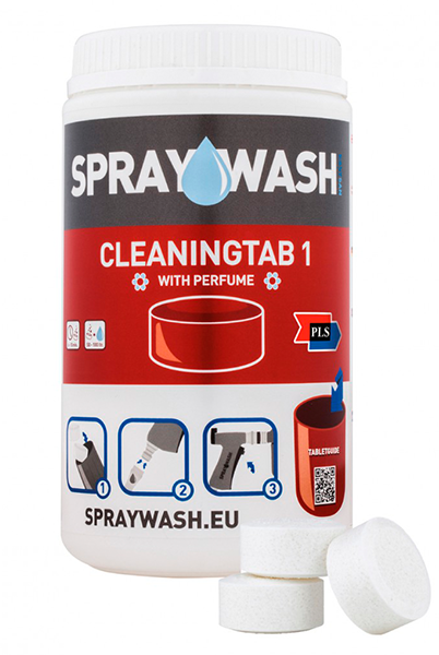 SprayWash system Tabs - Cleaningtab 1, uden parfume