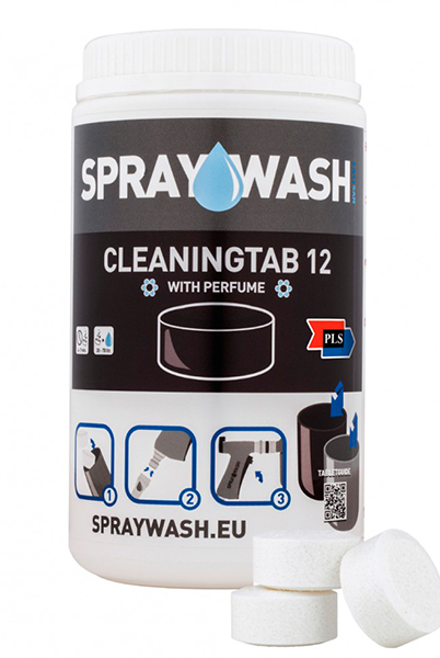 SprayWash system Tabs - Cleaning tab 12, uden parfume