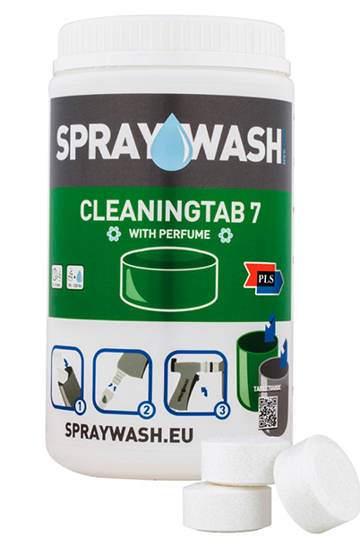 SprayWash system Tabs - Cleaningtab 7, uden parfume