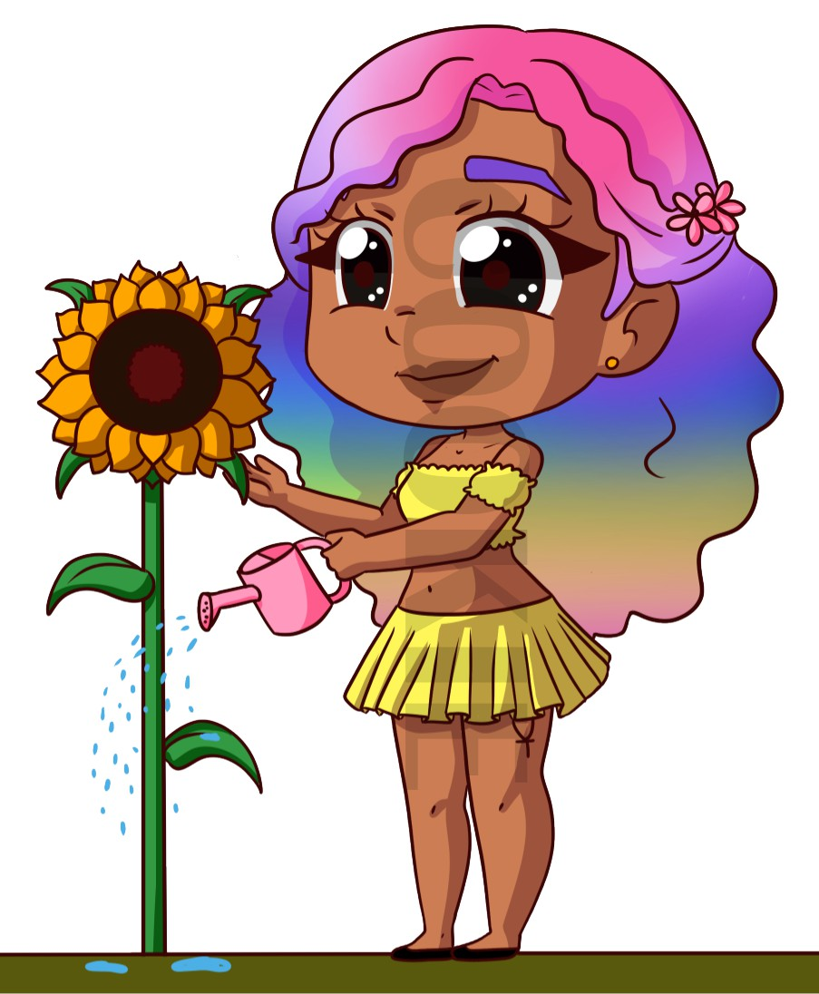 PRIDE SUNFLOWER COOKIE DIGITAL DOWNLOAD
