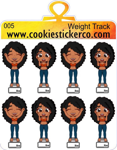 Cookie Weight Tracker