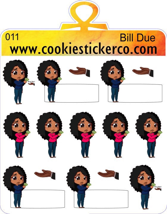 Cookie Bill Due