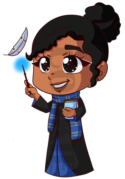 Cookie Ravenclaw Wizard DIGITAL DOWNLOAD