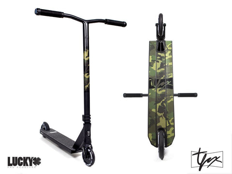 Tanner Fox Sig Pro Scooter  Completes Lucky- Wheelz Inc.