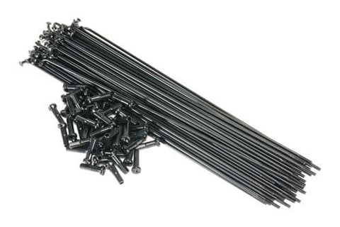 SALT - PG 40pcs Black Spokes