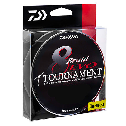 Daiwa Tournament Evo 8 Braid