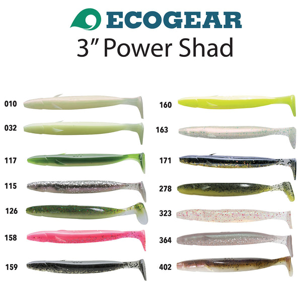 Ecogear Power Shad 3""