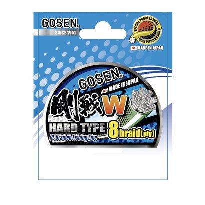 Gosen W Hard 8 Ply Hard Type Braid