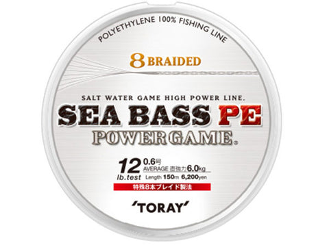 Toray Seabass PE Power Game Braid