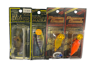 Megabass Lures Pack of 4