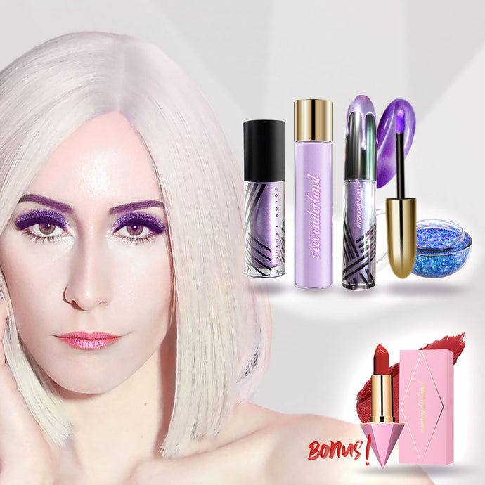 6 Products Makeup Bundle (FREE Magic Moments Lipstick incl.)