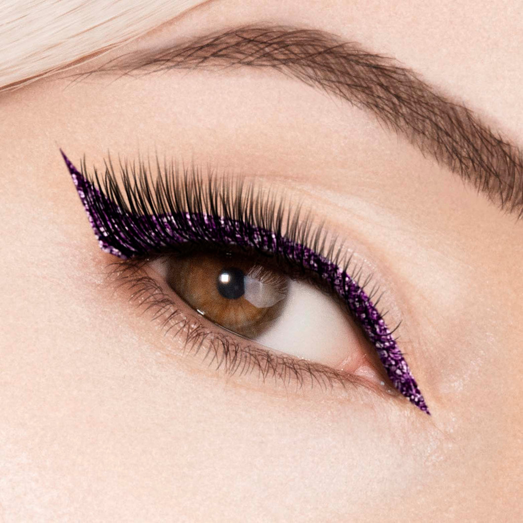 Shimmer Liquid Eyeliner (Purple)